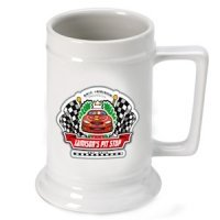 Personalized Racing 'Pit-Stop' Beer Stein