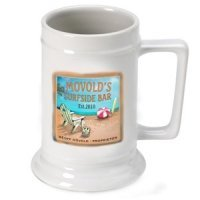 Personalized 'Surfside' Beer Stein