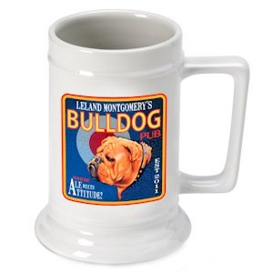 Personalized Ale Beer Stein image