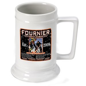 Personalized Hockey Academy Stein image