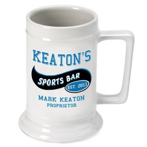 Personalized Sports Bar Beer Stein image