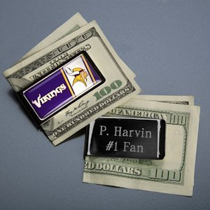 Customized NFL Emblem Money Clip image