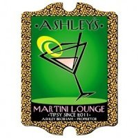 Personalized Vintage 'Cosmo-Chic' Martini Lounge Sign