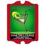 Personalized Vintage 'Cosmo' Martini Lounge Sign