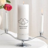 Premier Personalized Unity Candle Set (Many Designs)