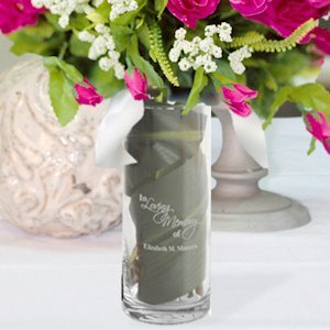 Personalized Garden of Memories Memorial Vase image