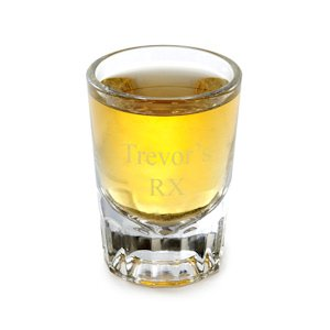 Personalized Shot Glass image