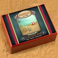 Personalized Surfside Cigar Humidor