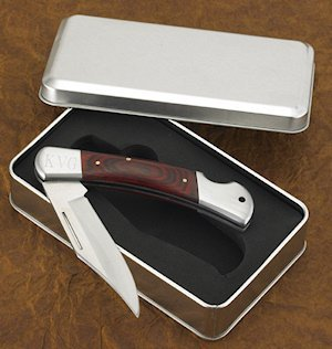 Personalized Yukon Lockback Folding Pocket Knife image