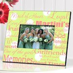 Personalized Maid of Honor Picture Frames (7 Colors)
