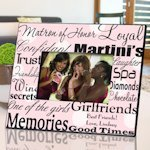 Personalized Matron of Honor Frames (7 colors)