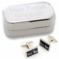 Dashing Best Man Cufflinks