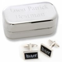 Dashing Usher Cufflinks