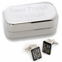 Dashing iPhone Cufflinks