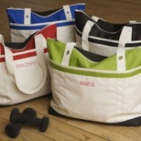 Personalized Fitness Fun Tote Bag