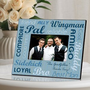 Best Buds Wedding Party Frames image