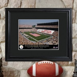 Personalized Framed NFL Stadium Print image