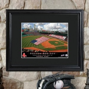 Personalized Framed MLB Stadium Print image