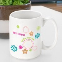 Personalized Groovy Coffee Mug