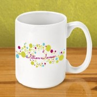 Personalized Gleeful Coffee Mugs
