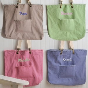 Personalized Favorite Cotton Tote - 4 Colors image