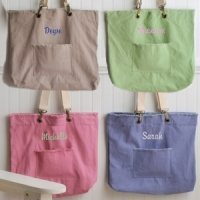 Personalized Favorite Cotton Tote - 4 Colors