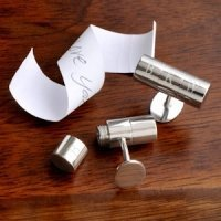 Personalized Secret Agent Cufflink Set