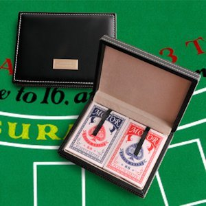Card Shark Personalized Playing Card Case image