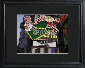 Custom Marquee Framed Print (7 Designs) image