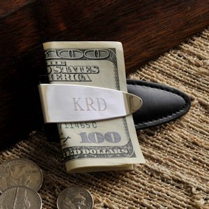 Personalized Arrowhead Design Money Clip image