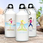 Personalized 'Go-Girl' Active Water Bottle (Many Designs)