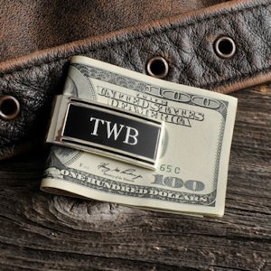Millionaire Engravable Money Clip (Spring-Loaded) image