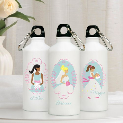 Unique Bridesmaid Gifts: Bridal Party Water Bottles