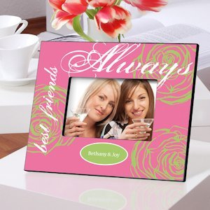 Personalized Best Friends Always Frame (3 Colors) image