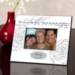 Personalized 'Always In My Heart' Memorial Frame (3 Colors)