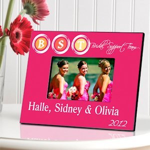 Bridal Support Team Picture Frame - 2 Colors image