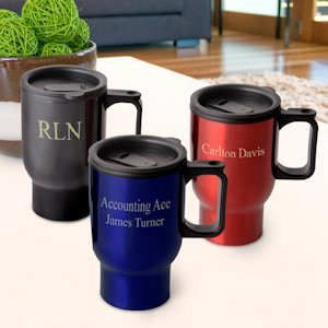 Personalized Travel Mug image