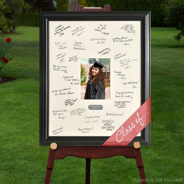 personalized graduation party signature frame
