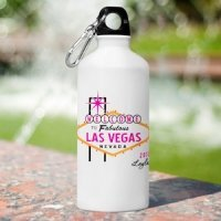 Personalized Las Vegas Gals Water Bottles - 5 Designs