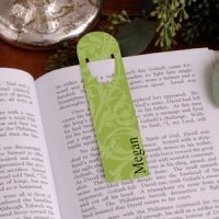 Personalized Floral Bookmarks - 6 Designs