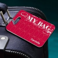 Personalized 'My Bag' Luggage Tag
