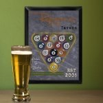 Chalkboard Style Sports Tavern Signs (6 Designs)