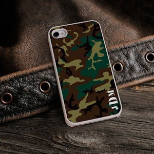 Camouflage Personalized iPhone Case image