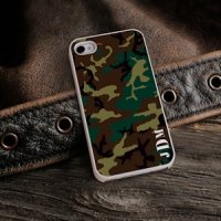 Camouflage Personalized iPhone Case