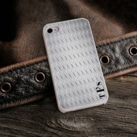 Diamond Plate Personalized iPhone Case