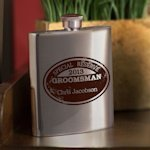 Special Reserve Personalized Groomsman Flask (4 Options)