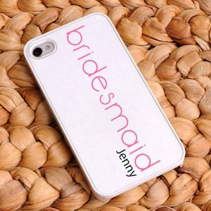 Personalized Bridesmaid iPhone Cases (6 Designs) image
