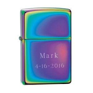 Personalized Zippo Spectrum Lighter image