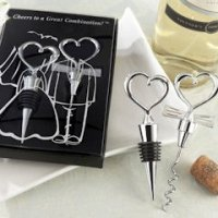 Cheers to a Great Combination Wine Utensil Gift Set