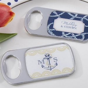 Nautical Themed Personalized Bottle Openers image
